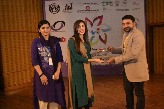 Kakfa-Award-Receiving